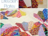 How to Make A Quilt Template How to Make Your Own Dresden Plate Templates