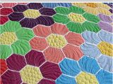How to Make A Quilt Template How to Quilt Hexagons Easy Way to Quilt Hexagon Quilts