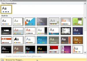 How to Make A Template In Powerpoint 2010 Create Twitter Backgrounds Using Powerpoint 2010
