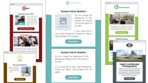 How to Make Email Marketing Templates HTML Email Templates Aweber Email Marketing