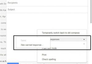 How to Make Template In Gmail Gmail Email Templates Cyberuse