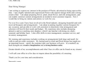 How to Prepare A Cover Letter for A Job Writing A Cover Letter Business Covering Letter Example