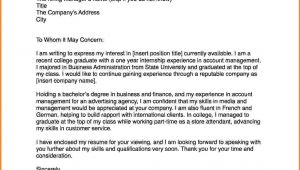 How to Right A Cover Letter Examples 6 How to Write A Cover Letter Example Lease Template