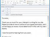 How to Save An Email as A Template Save Time with An Outlook Email Template Email Overload
