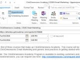 How to Save An Email Template Add An Outlook Calendar event to An Email Template