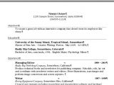 How to Set Up Resume format On Microsoft Word Create A Resume In Word Susan C Daffron
