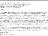 How to Start A Cover Letter Email Writing An Email Cover Letter Hire Imaging