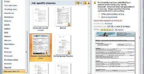 How to Use A Resume Template In Word 2010 How to Find and Use Word 2010 Resume Templates