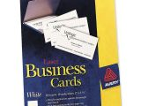 How to Use Avery Business Card Templates In Word Printer