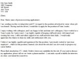 How to Write A Cover Letter for A Leadership Position Cover Letter Example for It Job Application