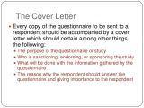 How to Write A Cover Letter for A Questionnaire Cover Letter Confidentiality
