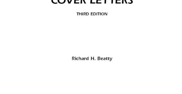 How to Write A Cover Letter for A Report 175 High Impact Cover Letter