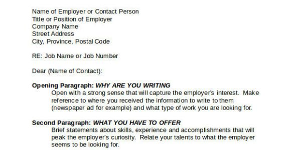 How to Write A Cover Letter for A Specific Job Nice Sample Generic Cover Letter Letter format Writing