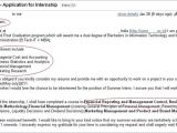 How to Write A Cover Letter for Summer Internship How Not to Apply for An Internship 3 Internshala Blog