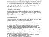 How to Write A Good Cover Letter for Employment How to Write A Good Cover Letter Letters Free Sample