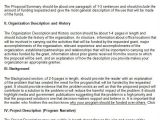 How to Write A Grant Proposal Template Grant Proposal Template 9 Download Free Documents In