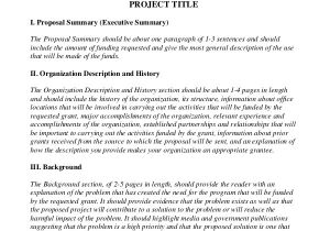 How to Write A Grant Proposal Template Grant Writing Template 8 Free Word Pdf Ppt Documents