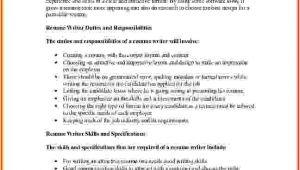 How to Write A Job Description Template 10 How to Write Job Description On Resume Lease Template