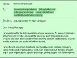 How to Write A Mail for Job Application with Resume Common Job Application Mistakes In Emails Resumes by Job