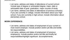 How to Write A Resume for Job Interview Help Me Write Resume for Job Search Resume Writing