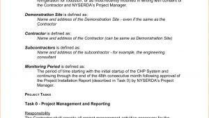 How to Write A Statement Of Work Template 5 Example Statement Of Work Teknoswitch