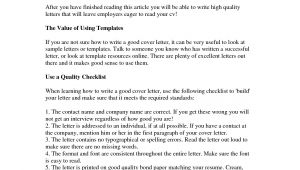 How to Write An Interesting Cover Letter How to Write A Good Cover Letter Gplusnick