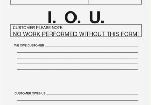 How to Write An Iou Template Iou Letter format thepizzashop Co
