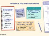 How Will A Resume Help You During the Job Interview the Most Powerful Words to Use During Your Interview