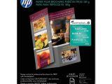 Hp Brochure Templates Hp Tri Fold Brochure Paper Bright White 8 50 Quot X 11