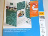Hp Tri Fold Brochure Template Hp Tri Fold Brochure Paper 8 5 Inch X 11 Inch Glossy 125