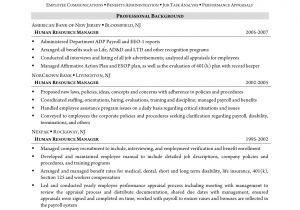 Hr assistant Resume Objective Samples Hr thesis Examples assistant Resume Objective Samples