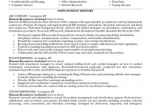 Hr assistant Resume Objective Samples Human Resources assistant Resume F Resume