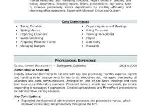 Hr assistant Resume Objective Samples Resume Objective Examples Human Resources Job Image