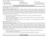 Hr Business Partner Cover Letter Sample Resume Of Hr Business Partner Krida Info