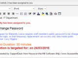 Hr Email Templates Human Resources Helpdesk House On the Hill Service Desk