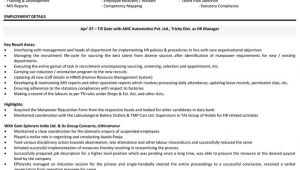 Hr Executive Resume Sample In India Manager Administration Resume India Dadaji Us