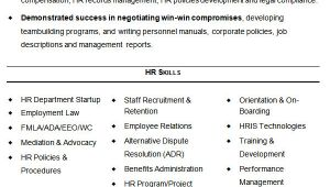 Hr Generalist Fresher Resume format 26 Hr Resume Templates Doc Free Premium Templates