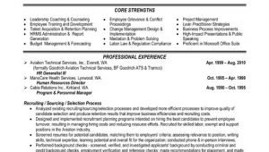 Hr Professional Resume Examples top Human Resources Resume Templates Samples
