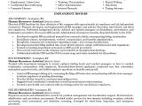 Hr Professional Resume Objective Example Human Resources assistant Resume Free Sample