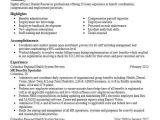 Hr Professional Resume Objective Hr Benefits Specialist Objectives Resume Objective