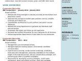 Hr Recruiter Resume Word format Corporate Recruiter Resume Samples Qwikresume