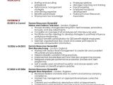 Hr Resume format Word 15 Of the Best Resume Templates for Microsoft Word Office