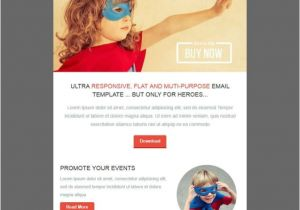 Html Email Advertising Templates Superheroo Email Template Email Marketing Templates