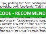 Html Email Signature Code Template Designing Coding and Deploying HTML Email Signatures