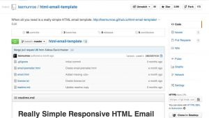 Html Email Starter Template Really Simple Responsive HTML Email Template