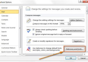 Html Email Templates for Outlook 2010 Create Email Templates In Outlook 2016 2013 for New