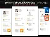 Html formatted Email Templates 17 Business Email Signature Templates Editable Psd Ai
