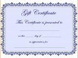 Html Voucher Template Free Gift Certificate Template Pages Sample