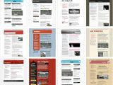 Html5 Email Newsletter Templates 100 Free HTML Email Newsletter Templates Patternhead