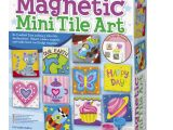 Https Uniquely Creative Card Making Kits 4m Magnetic Mini Tile Art Diy Paint Arts Crafts Magnet Kit for Kids Fridge Locker Party Favors Craft Project Gifts for Boys Girls